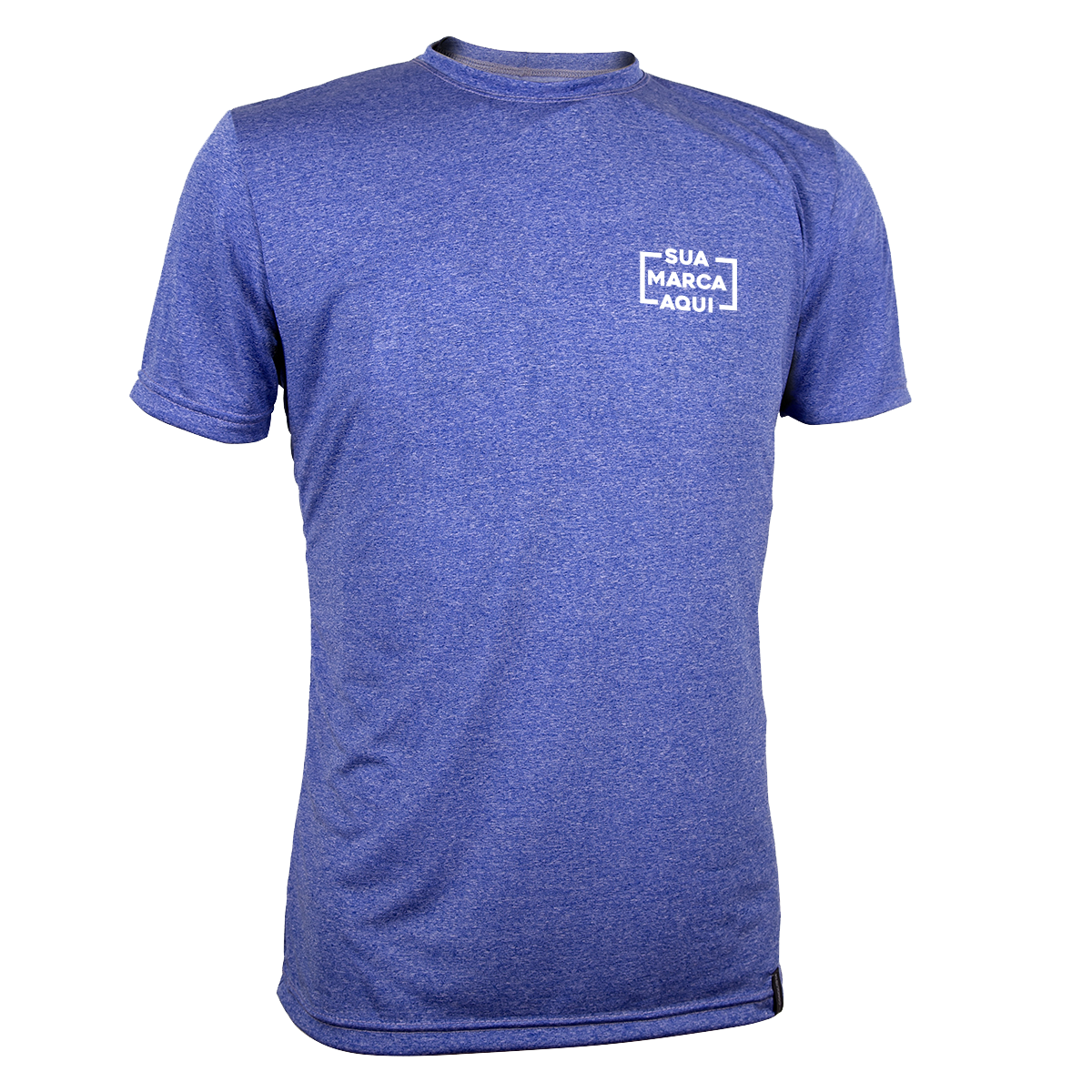 6332f1e26c Camiseta Dry Living Manga Curta Masculina Conquista