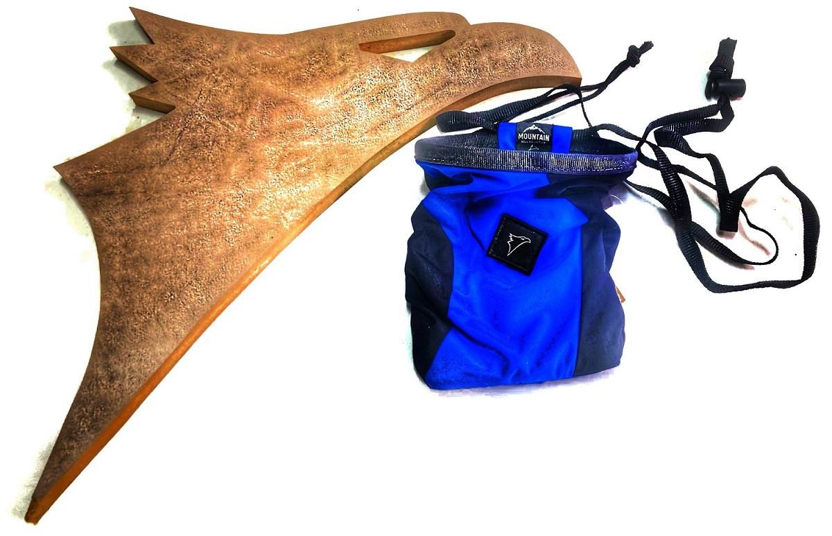 Saco de Magnésio React Ecológico Conquista - Azul