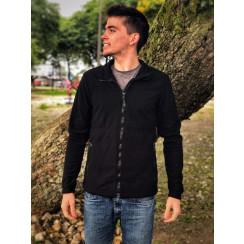 Jaqueta Fleece Glaciar Zíper Inteiro Masculina Personalizada Conquista
