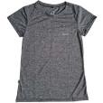 Camiseta com Proteção Solar Dry Living UPF30+ Feminina MC Conquista - Cinza