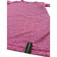Camiseta com Proteção Solar Dry Living UPF30+ Feminina ML Conquista - Rosa Claro