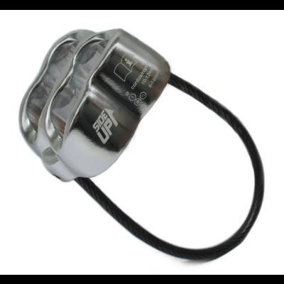 Freio ATC Silver Alumínio para corda 8 a 12 mm SideUp