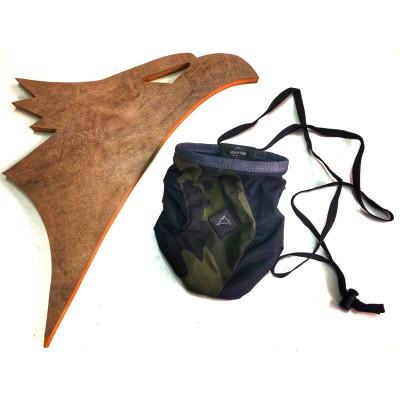 Saco de Magnésio React Ecológico Conquista - Camuflado